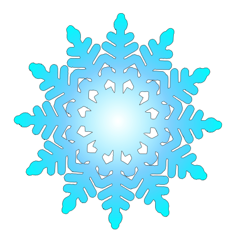Snowflakes free to use cliparts