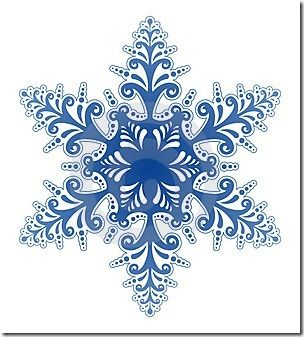 Snowflakes on clip art christmas snowflakes and album