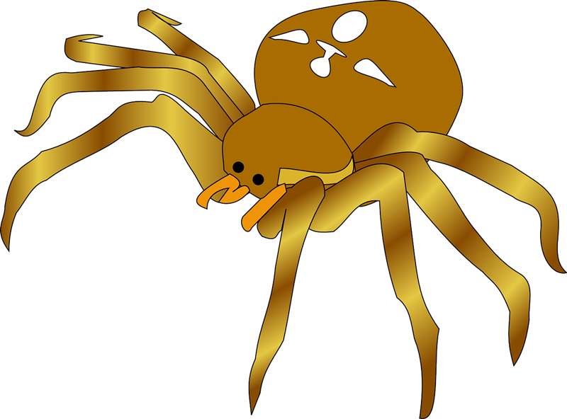 Spider free to use clip art 2