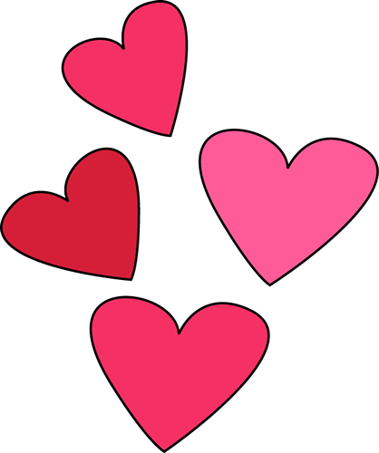 Valentines day hearts clip art valentine week 6 2