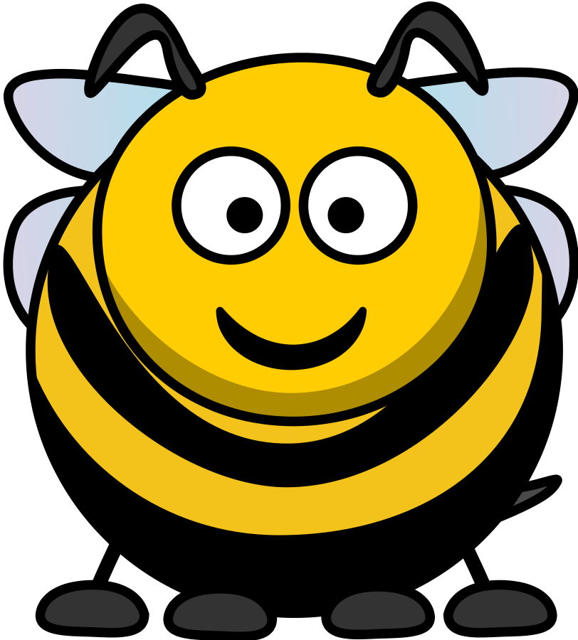 Vector bee clipart clipartwiz