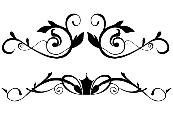 Vector floral ornamental border clip art freevectors