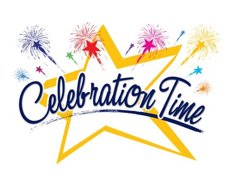 Celebration let party clip art free clipart images clipartcow