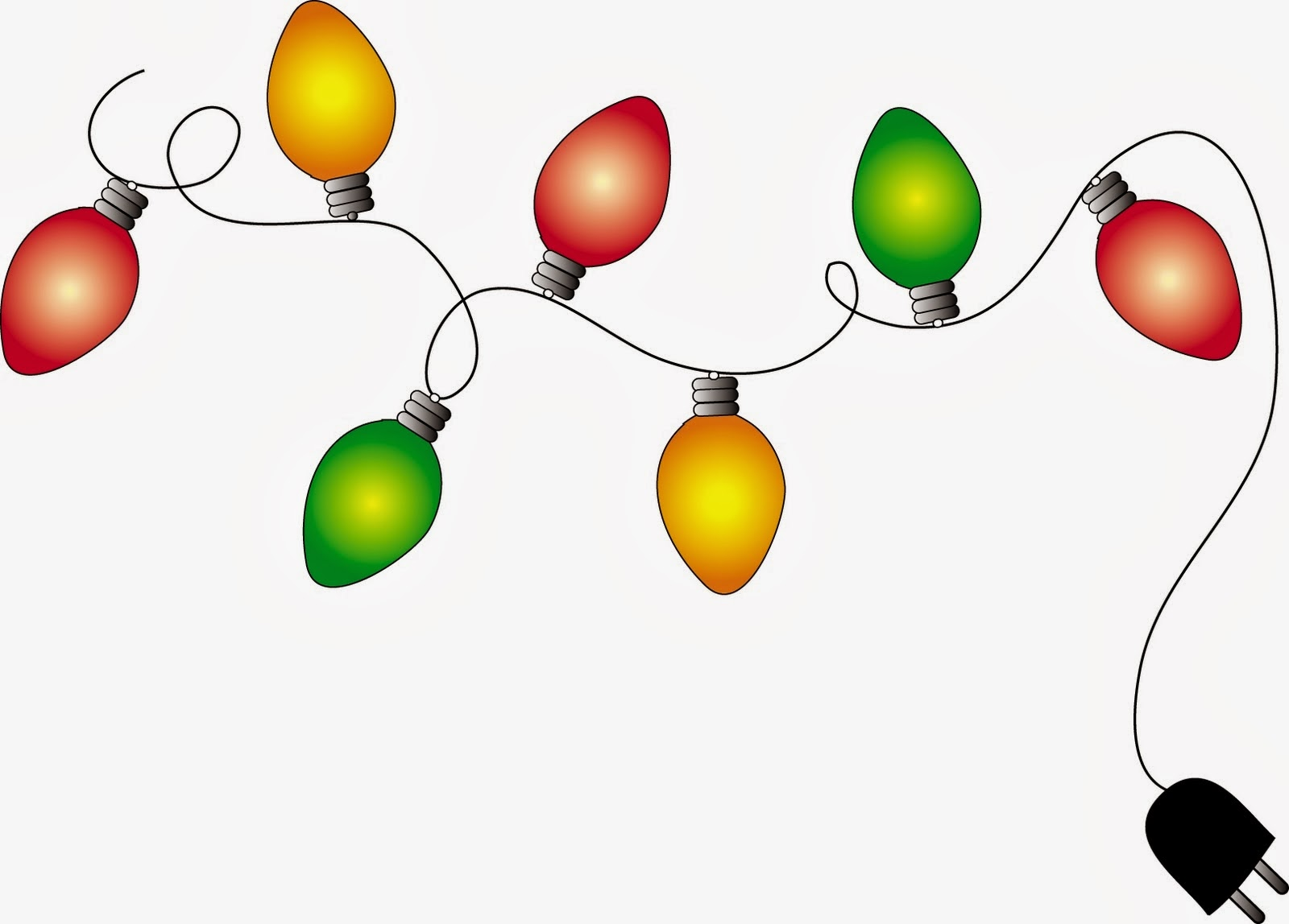 Christmas lights christmas light clipart 3