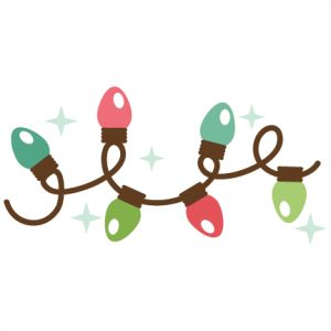 Christmas lights svg my miss kate cuttables cliparts