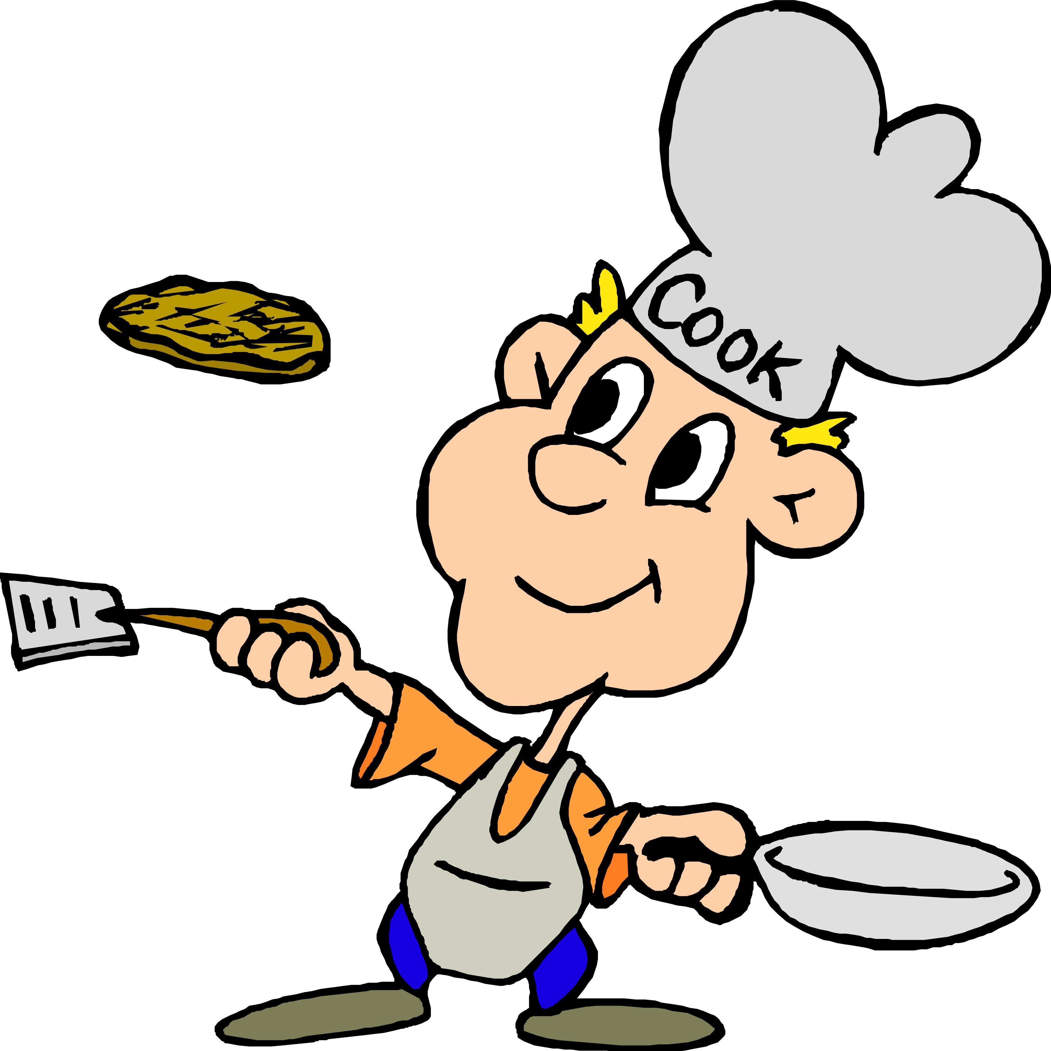 Cooking breakfast clipart 2 clipartcow