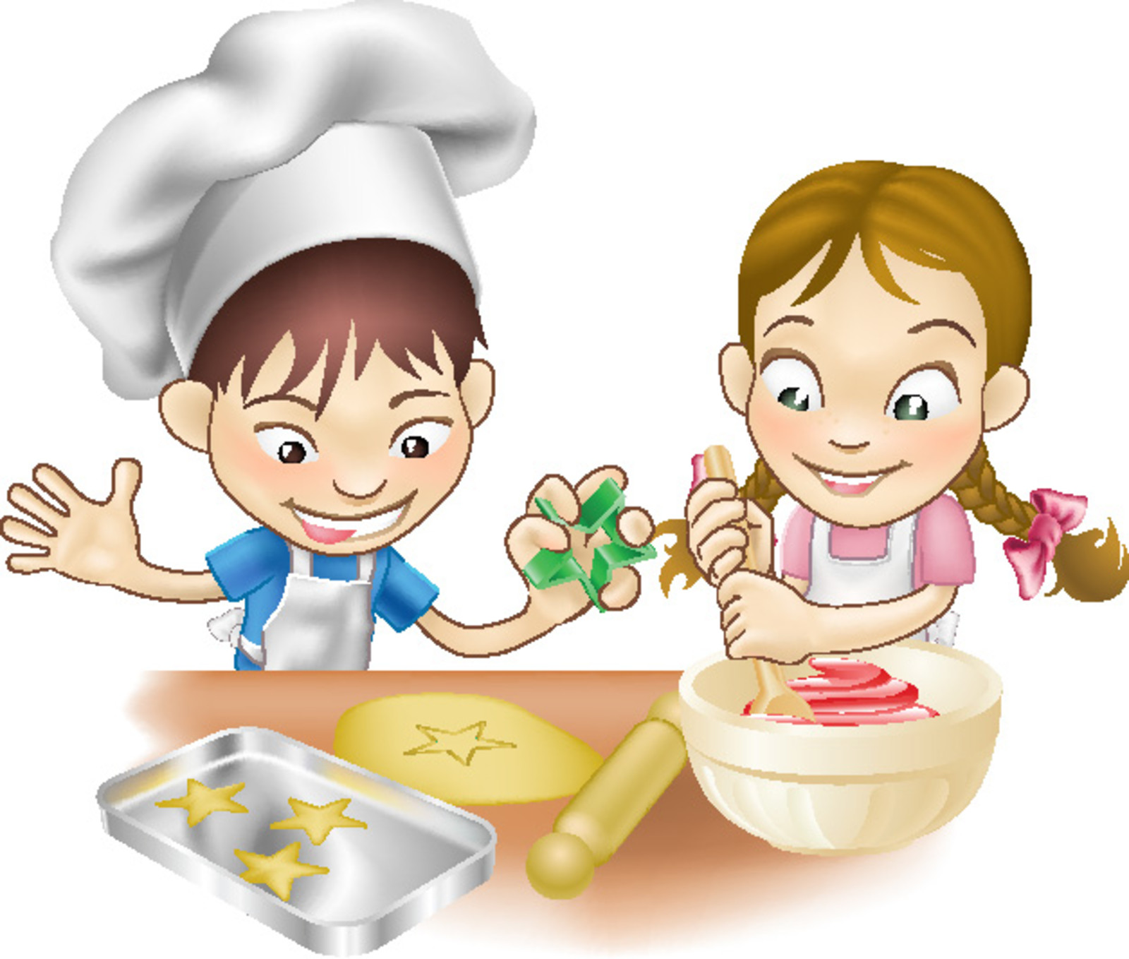 Cooking with kids download pdf clipart