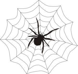 Corner spider web clipart free clipart images 2