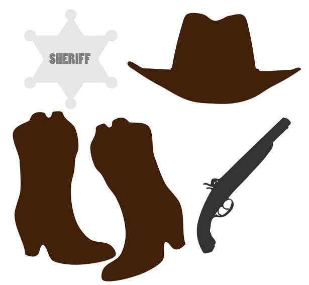 Cowboy clip art country and western graphics clipartix