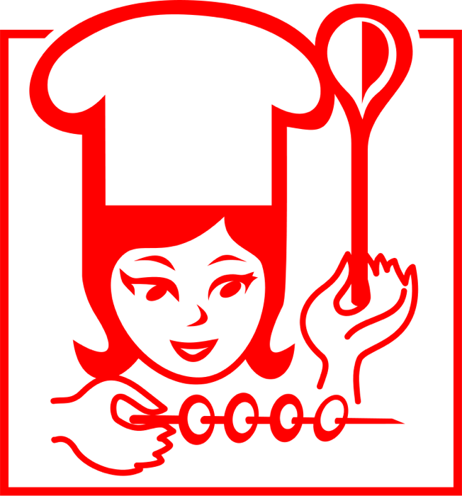 Free chef clipart graphics of chefs cooks 2