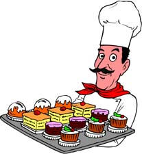 Free chef clipart graphics of chefs cooks 3