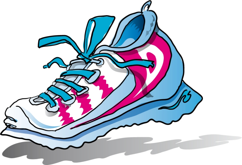 Free clip art images of shoes clipartcow