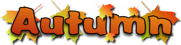 Free fall autumn clip art