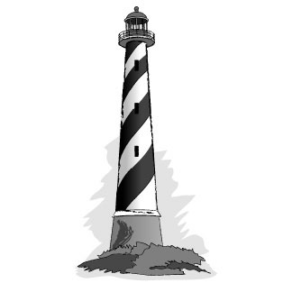 Free lighthouse clipart 3 clipartcow