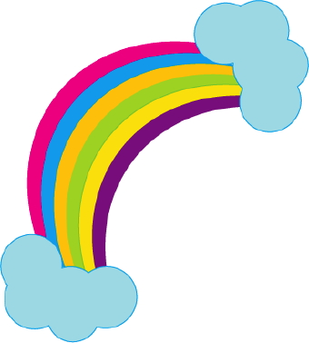 Free rainbow clipart public domain rainbow clip art images and 2