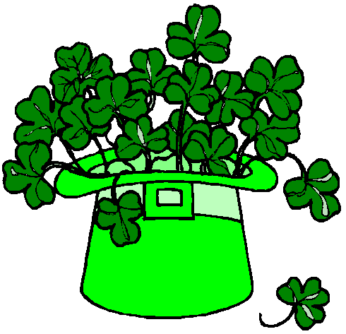 Free shamrock clipart public domain holiday stpatrick clip art 18