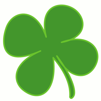 Free shamrock clipart public domain holiday stpatrick clip art