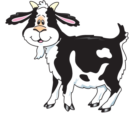 Goat clipart black and white danaspdi top