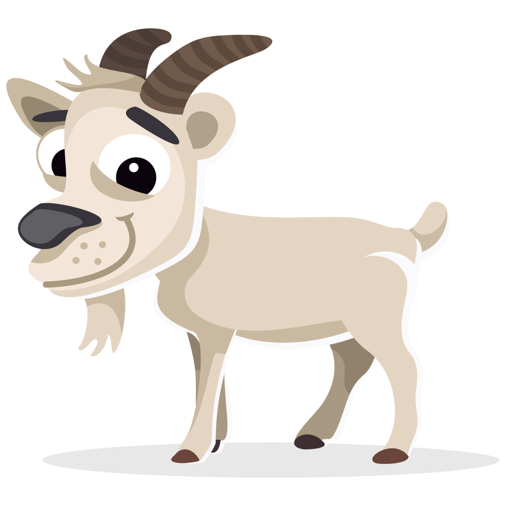 Goat free to use cliparts