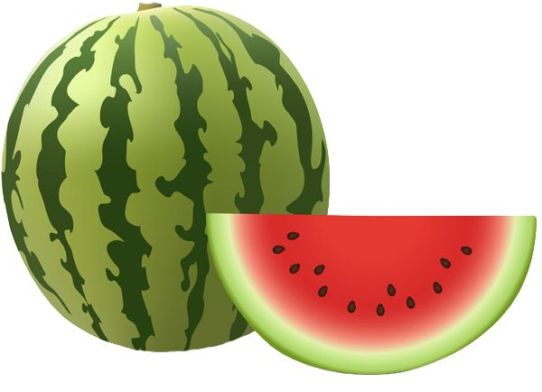Grab this free clipart to celebrate the summer watermelon clip