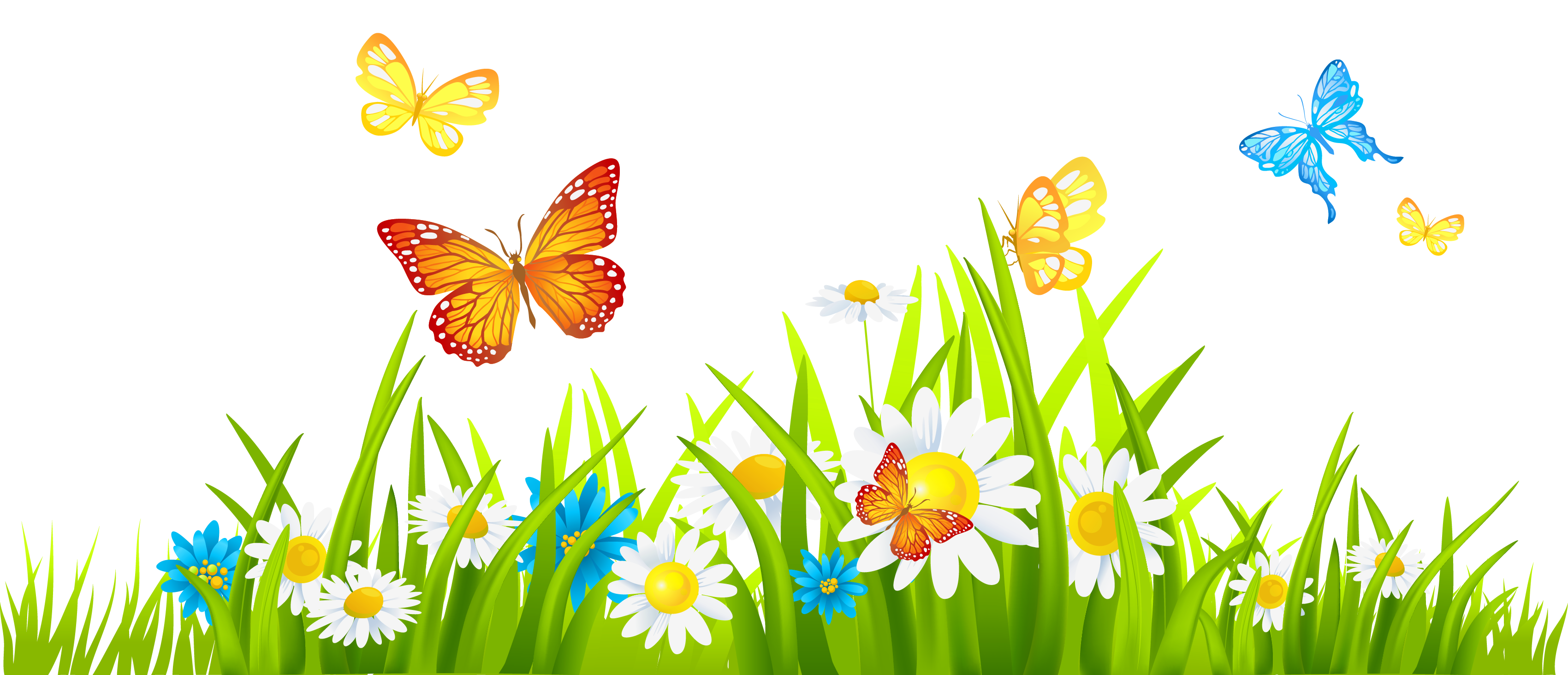 Grass and flowers clip art free clipart images clipartwiz clipartix