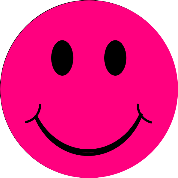 Happy face clip art smiley face clipart image 1 3