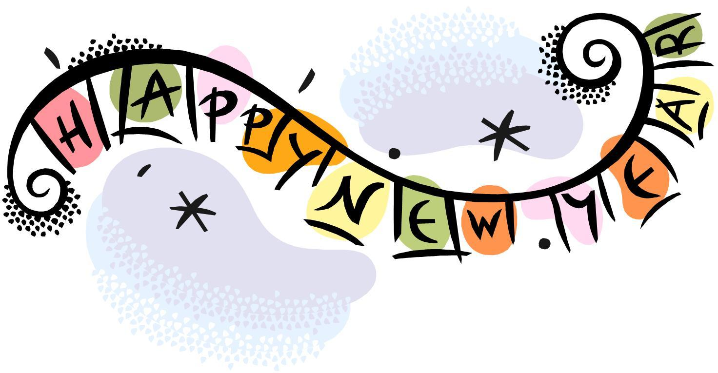 happy new year 6 clip art download quotes