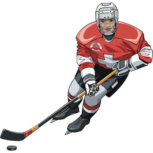 Hockey player free images at clker vector clip art