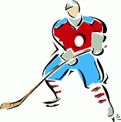 Hockey vintage apple clipart clipartcow