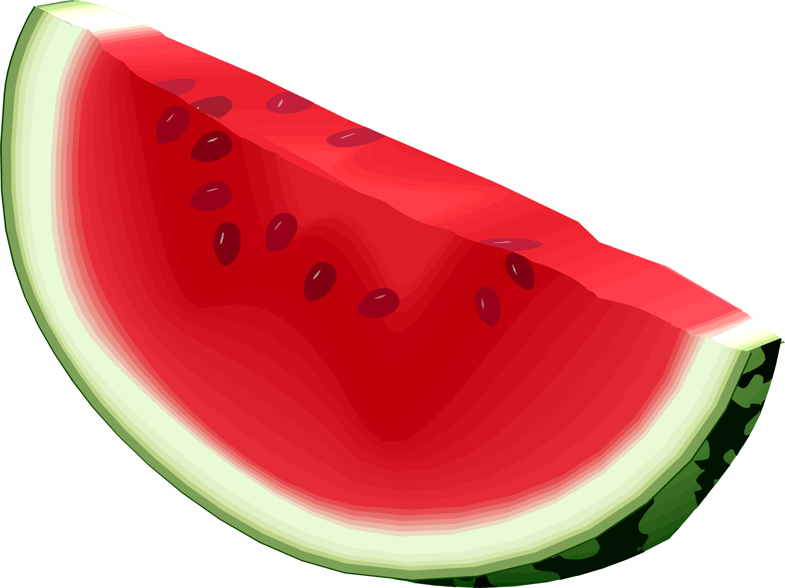 Image cartoon watermelon clip art clipartcow 3