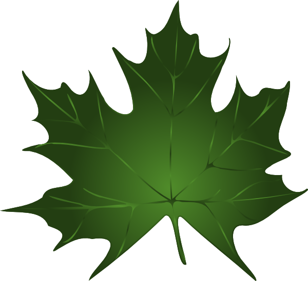 Free leaves clip art pictures clipartix - Leaves paintings and drawings ...