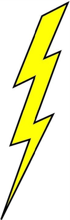 Free Lightning Bolt Clipart Pictures