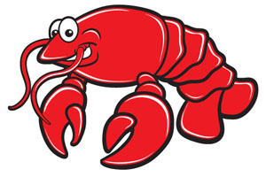 Lobster clipart 6