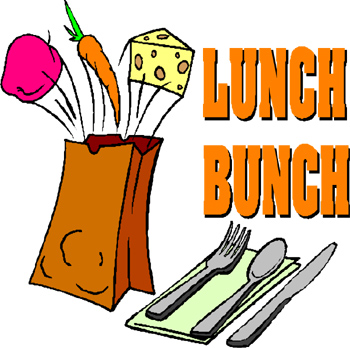 Lunch in color clip art gallery image