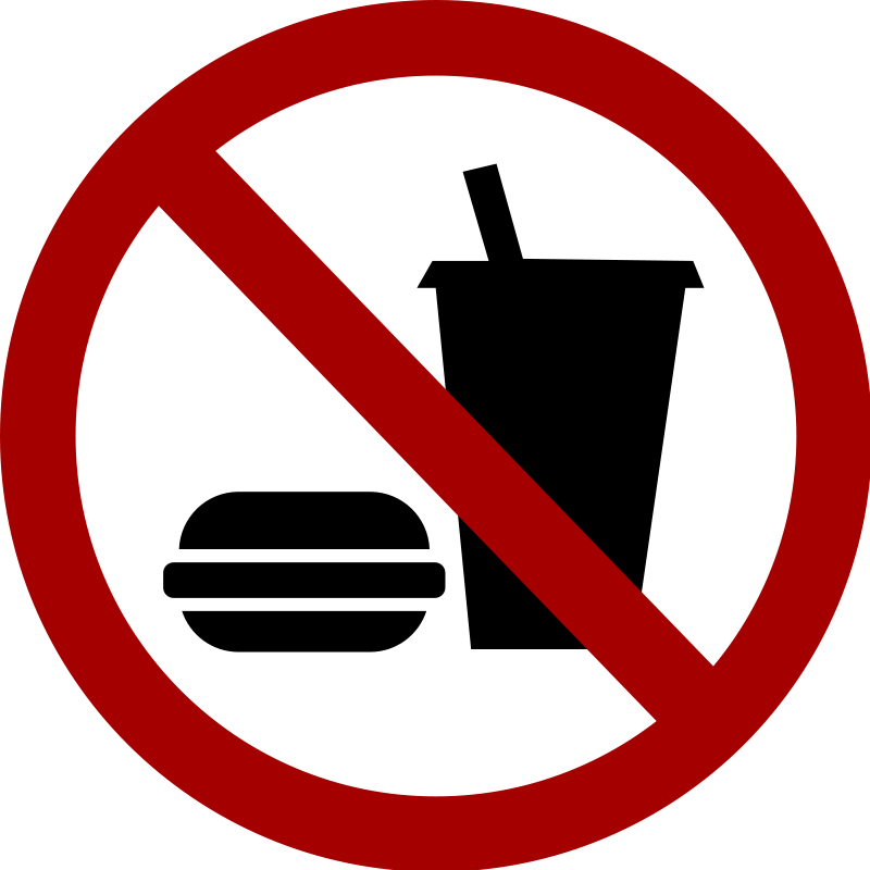 No cooking clipart