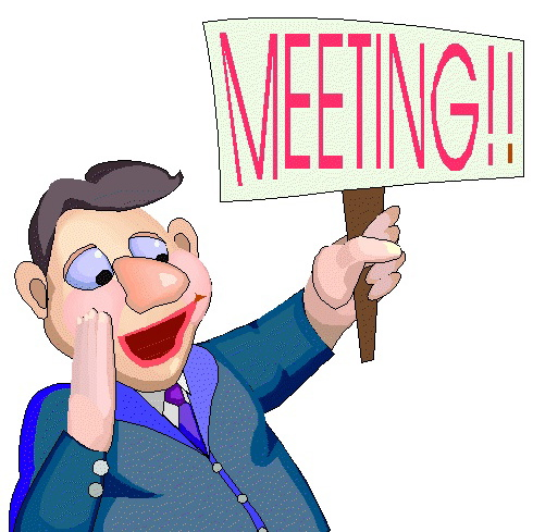 No meeting clipart