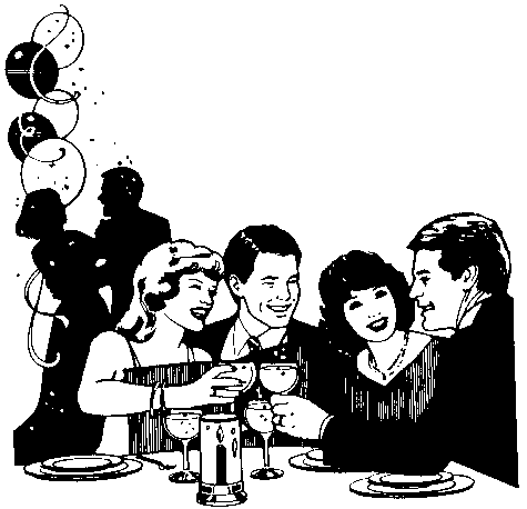 Party clip art for adults free clipart images clipartcow