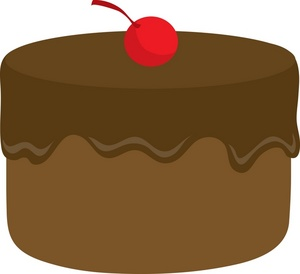 Pic chocolate birthday cake clipart clipartcow
