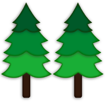 Pine tree christmas tree svg on christmas trees clip art and
