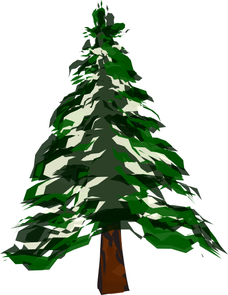 Pine tree clip art at clker vector clip art