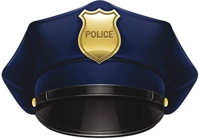 Police cake on police cars police badges and clip art