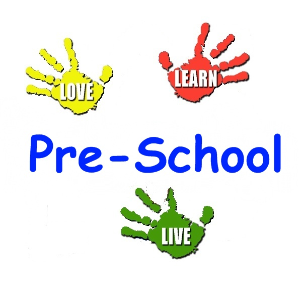 Preschool christian welcome for programs clipart
