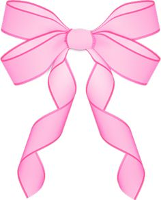 Purple ribbon bow clip art borders 2