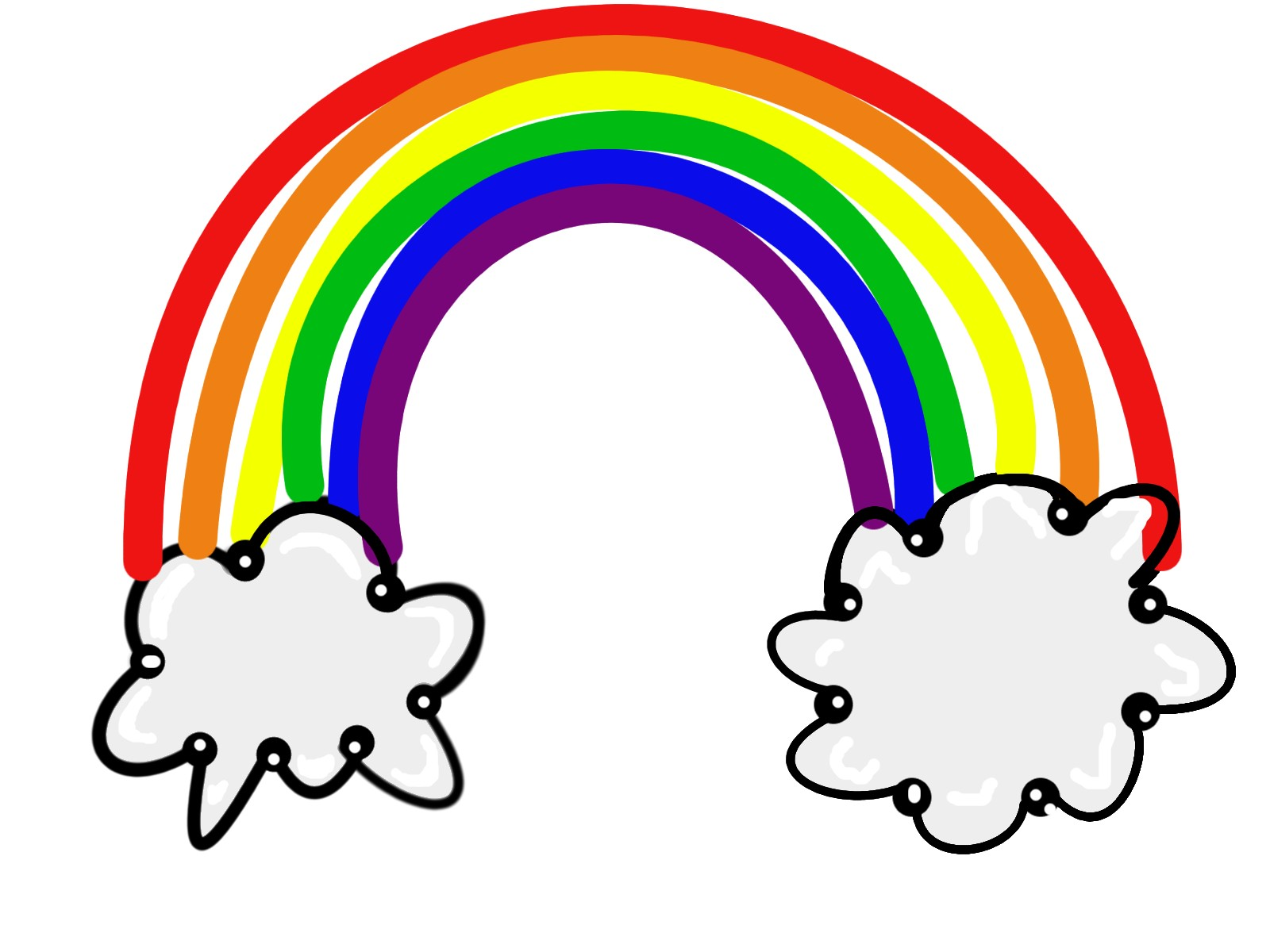 Rainbow clipart clipart cliparts for you