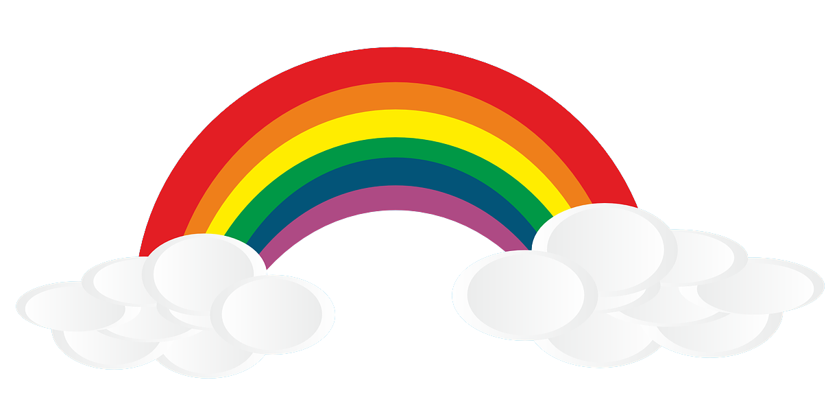 Rainbow free to use clip art