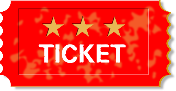 Red ticket clip art at clker vector clip art