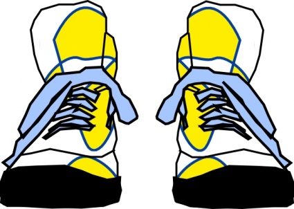 Shoe sneakers vector free vector in encapsulated postscript cliparts
