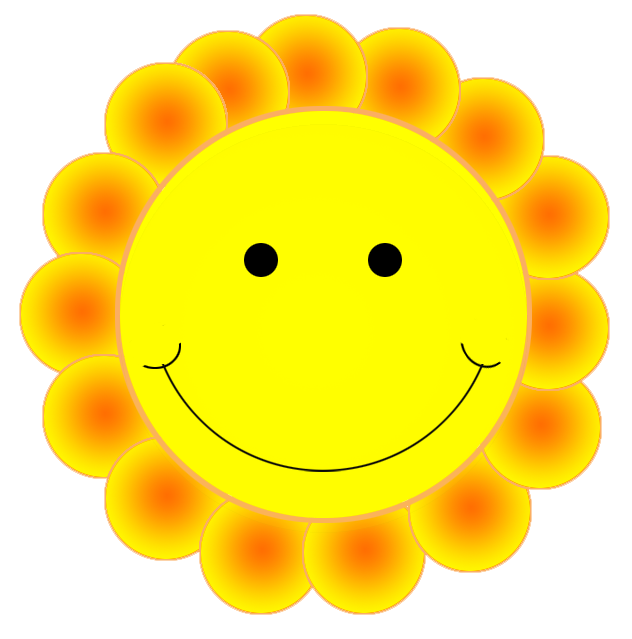 Smiley face clipart 4