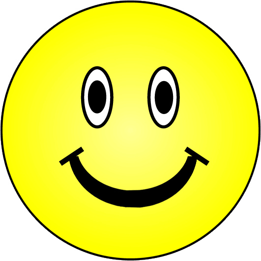 Smiley face happy face clip art that can copy and paste