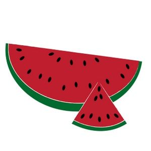 Summer clip art watermelon clipart image a sliced summer